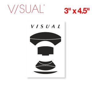 V/SUAL ヴィジュアル Lens ステッカー 縦約11.3cm×横約7.6cm VISUAL|54tide