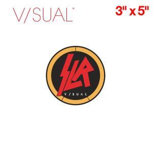 V/SUAL ヴィジュアル Slr ステッカー 約7.5cm×約7.5cm VISUAL|54tide