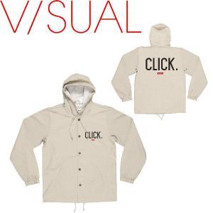 V/SUAL ヴィジュアルCLICK COACHES JACKET メンズジャケット コーチジャケット 長袖|54tide