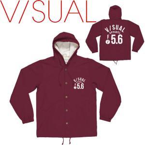 V/SUAL ヴィジュアル F STOP JACKET メンズジャケット コーチジャケット 長袖 VISUAL|54tide