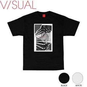 ヴィジュアル V/SUAL 2016秋冬 Torn Tee メンズTシャツ 半袖ティーシャツ|54tide