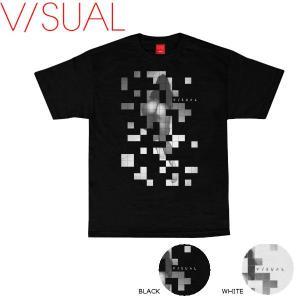 ヴィジュアル V/SUAL 2016秋冬 Puzzle Tee メンズTシャツ 半袖ティーシャツ|54tide