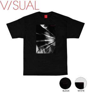 ヴィジュアル V/SUAL 2016秋冬 Quantum Tee メンズTシャツ 半袖ティーシャツ|54tide