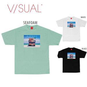 V/SUAL ヴィジュアル Lifeguard Tee メンズTシャツ TEE 半袖ティーシャツ VISUAL|54tide