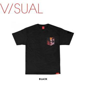 V/SUAL X Evidence ヴィジュアル Den Pocket Tee メンズTシャツ TEE 半袖ティーシャツ VISUAL|54tide
