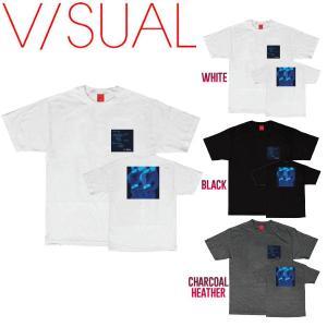 V/SUAL ヴィジュアル Future Tee メンズ半袖Tシャツ ティーシャツ トップス|54tide