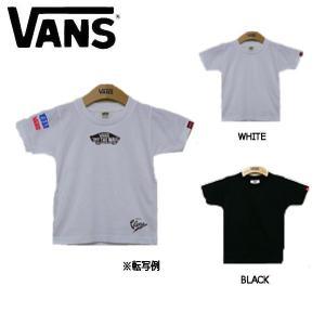 バンズ VANS Crimp Sticker Boys S/S T-Shirts ボーイズ半袖Tシャツ ティーシャツ TEE クルーネック キッズ|54tide