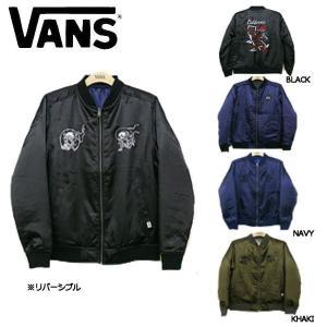バンズ VANS Reversible Souvenir Jacket メンズジャケット ジャンバー ジャンパー スカジャン リバーシブル|54tide