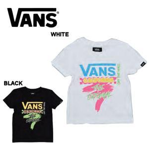 バンズ VANS SPRING スプリング Neon CheckerRacing Boys S/S T-Shirt ボーイズ キッズ 半袖Tシャツ ティーシャツ TEE トップス 100cm-150cm2カラー|54tide