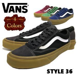 バンズ  VANS STYLE 36 ユニセックス  ローカット スニーカー シューズ 靴 22.5cm-28.5cm  スケートボード スケシュー 4カラー|54tide