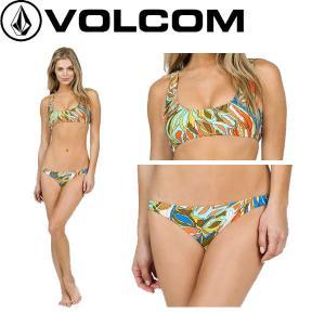ボルコム VOLCOM FADED FLOWERS CROP FULL レディース ビキニ 水着 海 プール アウトドア XS・S・M ARM【正規品】|54tide
