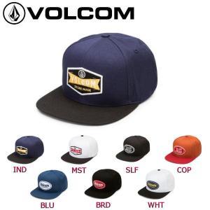 ボルコム VOLCOM メンズキャップ スナップバックキャップ 帽子 7カラー CRESTICLE HAT 正規品|54tide