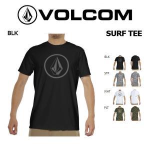VOLCOM ボルコム CIRCLE STONE 2 SURF TEE メンズ 半袖 ラッシュガード サーフTシャツ トップス|54tide