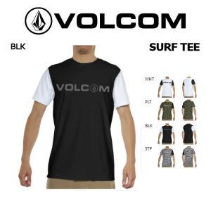 VOLCOM ボルコム BASIC LOGO2 SURF TEE メンズ 半袖 ラッシュガード サーフTシャツ トップス|54tide
