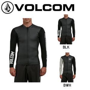 VOLCOM ボルコム CHESTICLE JACKET メンズ フロントジップ タッパー ウェットスーツ サーフィン|54tide