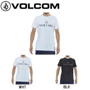 ボルコム VOLCOM メンズ ラッシュTシャツ 半袖ラッシュ トップス ラッシュガード サーフィン S・M・L・XL 2カラー 正規品 TRADEMARK SURF TEE|54tide