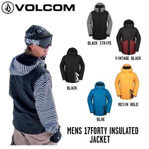 ボルコム VOLCOM MENS 17FORTY INSULATED JACKET メンズ スノーウェア ジャケット スノーボード スノボー ウィンタースポーツ 【正規品】|54tide