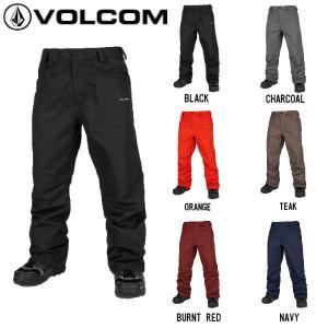 ボルコム VOLCOM CARBON PANT TEAK メンズ スノーウェア スノーパンツ スノーボード スノボー ウィンタースポーツ S〜XL 6カラー 【正規品】 54tide