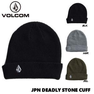 ボルコム VOLCOM JPN DEADLY STONE CUFF BEANIE メンズ レディース...