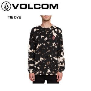 ボルコム 2019秋冬 VOLCOM STATIC NOISE LONG SLEEVE TEE  ロングスリーブ Tシャツ ロンT 長袖 タイダイ|54tide
