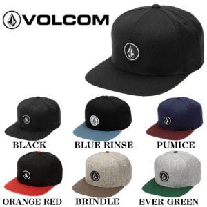 ボルコム VOLCOM 2019秋冬 Quarter Snap Back Hat メンズ スナップバック キャップ 帽子 6カラー|54tide