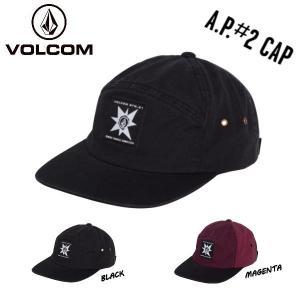 ボルコム VOLCOM A.P.2 HAT CAP メンズ キャップ 6パネル スナップバック ハッ...