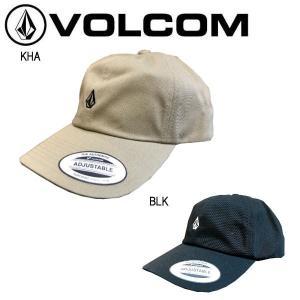 ボルコム VOLCOM GEEZER STN HAT キャップ ロー 帽子 ボルコムストーン 刺繍 フリーサイズ ブラック ベージュ|54tide
