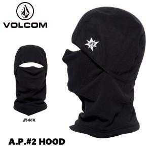 ボルコム VOLCOM A.P.2 Hood メンズ フードマスク バラクラバ フェイスマスク  ネックウォーマー スノーボード  スキー ブラック 54tide