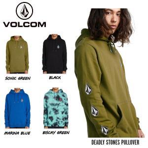 ボルコム VOLCOM DEADLY STONES PULLOVER  プルオーバー フード パーカーフリース アウター メンズ M・L・XL  4カラー【正規品】|54tide