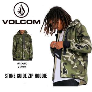 ボルコム VOLCOM STONE GUIDE ZIP HOODIE  ジップアップ フード パーカ...