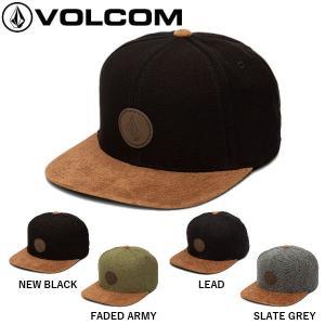 ボルコム VOLCOM QUARTER FABRIC HAT  ハット キャップ 帽子 スナップバッ...