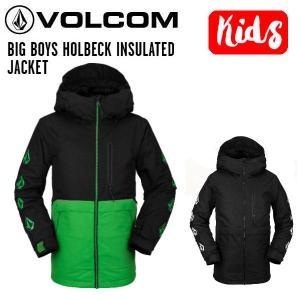ボルコム VOLCOM BIG BOYS HOLBECK INSULATED JACKET キッズ ボーイズ ジャケット スノーウェア スノーボード S/M/L/XL 正規品|54tide