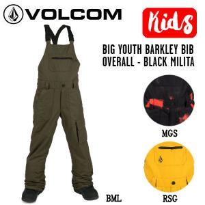 ボルコム VOLCOM BIG YOUTH BARKLEY BIB OVERALL キッズ ビブパンツ オーバーオール スノー ウェア  正規品|54tide