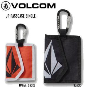 ボルコム VOLCOM 2020-2021 JP PASSCASE SINGLE J67521JD パスケース スノーボード スケートボード カラビナリフト券 チケットホルダー【正規品】|54tide