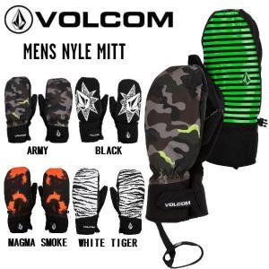 ボルコム VOLCOM 2020-2021 MENS NYLE MITT メンズ レディース スノーボード スキー グローブ 手袋 ミトングローブ スノーグローブ【正規品】|54tide