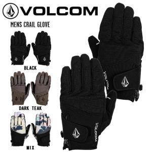 ボルコム VOLCOM 2020-2021 MENS CRAIL GLOVE メンズクレイルグローブ J6852109 スノーボード スキー グローブ 手袋 スノーグローブ S-L【正規品】|54tide