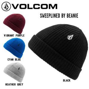 ボルコム VOLCOM 2020-2021 SWEEPLINED BY BEANIE YOUTH BOY&GIR ビーニー L5852100 帽子 ニット帽 折り返し キッズ 4カラー【正規品】|54tide