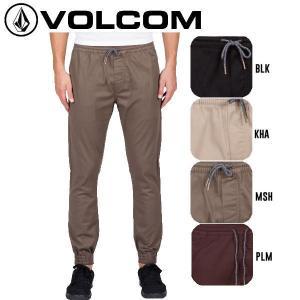 正規品 VOLCOM ボルコム FRICKIN SLIM JOGGER メンズジョガーパンツ 長ズボン ボトムス|54tide