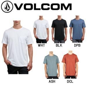 VOLCOM ボルコム SOLID POCKET S/S TEE メンズ半袖Tシャツ ティーシャツ ...