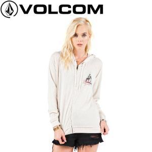 正規品 VOLCOM ボルコム Crowd Pleaser Zip レディース長袖ジップアップパーカー パーカー|54tide