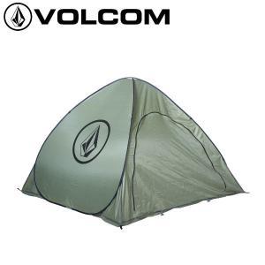 ボルコム VOLCOM テント 折りたたみ式 簡易テント アウトドア キャンプ ビーチ プール CIRCLE STONE TENT|54tide