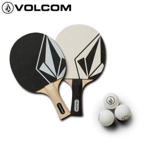 ボルコム VOLCOM 卓球セット ラケット ネット ピンポン玉 2人用 STONE PING PONG SET|54tide