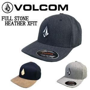 ボルコム VOLCOM FULL STONE HEATHER XFIT メンズ フレックスフィット キャップ 帽子 スノーボード スケートボード サーフィン S/M・L/XL|54tide