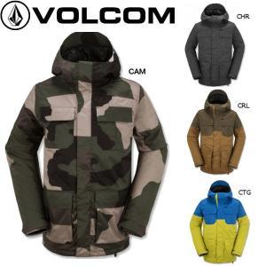 正規品 VOLCOM ボルコム メンズスノージャケット スノーボード ウエア ウェア|54tide