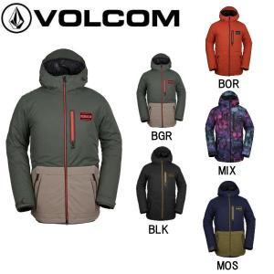VOLCOM ボルコム ANALYZER INS JACKET メンズ スノーウェア ジャケット スノーボード スノボー ウィンタースポーツ|54tide
