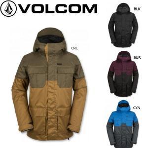 正規品 VOLCOM ボルコム メンズスノージャケット スノーボード ウエア ウェア 長袖上着|54tide