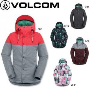 正規品 VOLCOM ボルコム  レディーススノージャケット スノーボード ウエア ウェア|54tide