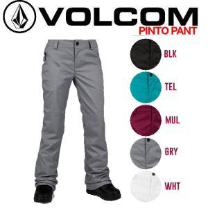 正規品 VOLCOM ボルコム レディーススノーパンツ スノーボードウェア 特典あり Pinto Pant|54tide