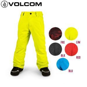 予約受付中 特典あり VOLCOM ボルコム EXPLORER INS PANT キッズ ジュニア スノーウェア パンツ スノーボード|54tide