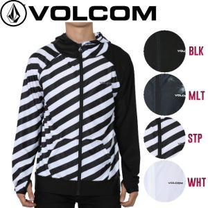 ボルコム VOLCOM CIRCLE STONE ZIP HOOD メンズ長袖ラッシュガード ジップアップ S-XL 4カラー 正規品|54tide